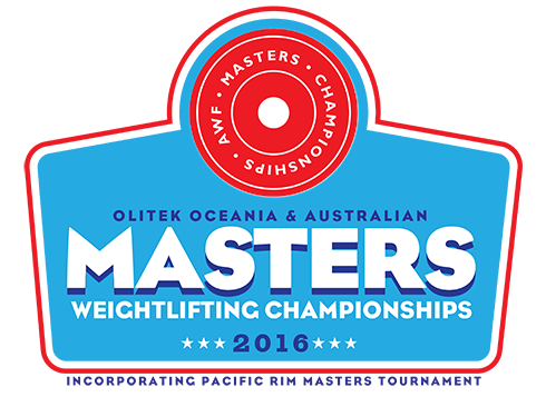 Logo of the 2016 Oceania and Australian Masters Championships
